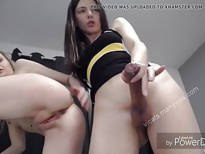 Sexy Shemale Webcum With Cute Girl