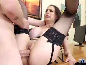 Busty Secretary Pussyfucked