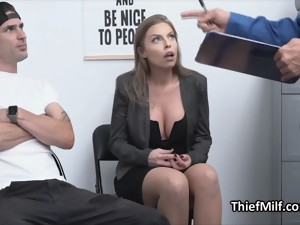 Watch Me As I Get Fucked By The Horny Officer