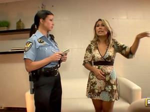 Police officer Jewels Jade laid