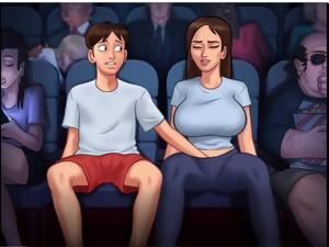 Masturbates At The Cinema