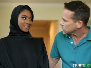 Lala Ivey Is Wearing Her Head Scarf Even While Cheating On Her Husband With His Friend
