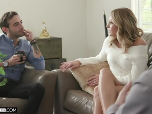 Desirable Wife Charlotte Sins Rides A Stranger While Hubby Watches