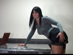 Charliesangel German Desyra Noir - Secretary Brunette
