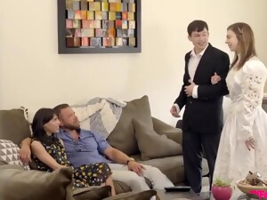 Step Sisters Proposal - 18yo Teen Bride Tiffany Watson Gets Ready For The Wedding