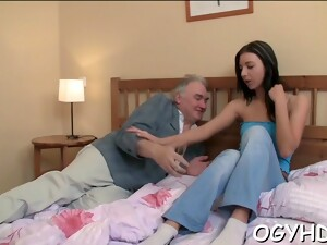 Old Guy Seduces  Babe Teen Feature 3