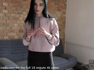 Cute Fresh Teen Banging Out Her Pussy Window Masturbation