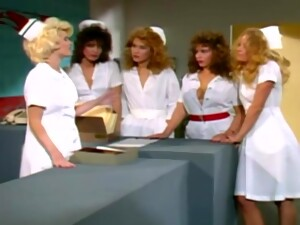 Raunchy Vintage Nurses Are Ready For New Sex Adventures!