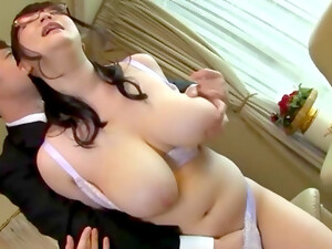 Japanese With Huge Boobs, Insane Office Hardcore Cam Sex