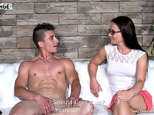 Female Casting Agent Has Fun With Fresh Meat
