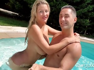Sienna Day Fucks With Her Husband All Day And Night On Their Vacation