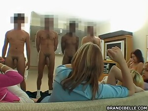 Brandi Belle Sucking Cock And Enjoying It Too Much