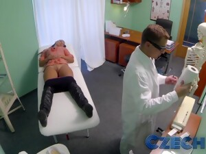 Czech Hospital Hidden Cam Catchs Cheating Wife With Doctor