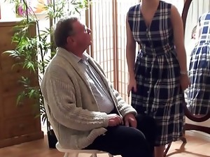Over the knee of Daddy