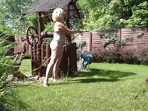Real granny with hungry ass and pussy
