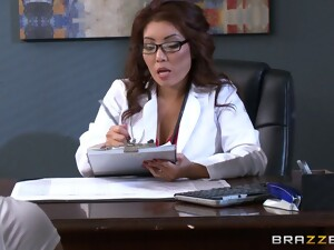 Nice Threesome At The Office With Babes Akira Lane And Lola Foxx