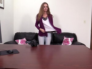 Sexy Tapanga Gets Her Small Pussy Destroyed On The Table