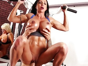 Working Out At The Gym Turns Into A Foursome