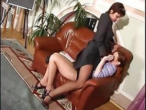 LEZDom Strap On Pantyhose
