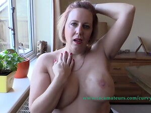 Dirty Talking Zoom Chat To A Lover Pt4 - CurvyClaire