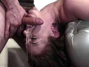 Fantastic Sex Scene Gagging Deepthroat