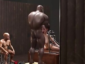 Young Captives Drilled By Pervert Boss Also His Bodyguards In The Basament