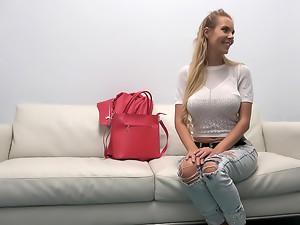 Busty Czech Babe Loves Casting Fuck