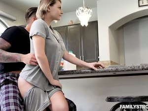Fabulous Busty Cowgirl Cara May Is Poked Doggy Darn Great In The Morning